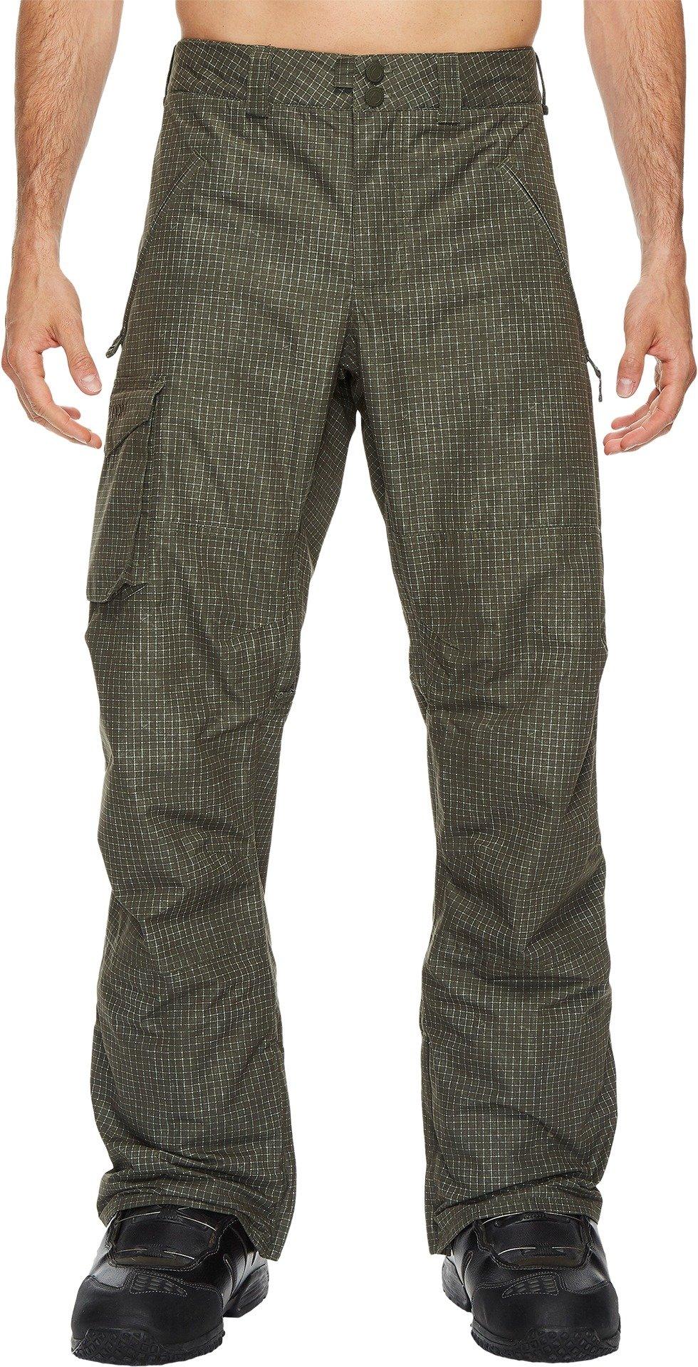 Burton Men's Covert Pant Forest Night Ripstop X-Small 33