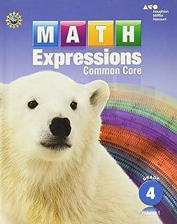 math worksheet : math expressions student activity book grade 4 vol 2 karen c  : 4th Grade Math Books