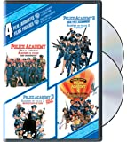 4 Film Favorites: Police Academy 1-4 Collection (Bilingual)