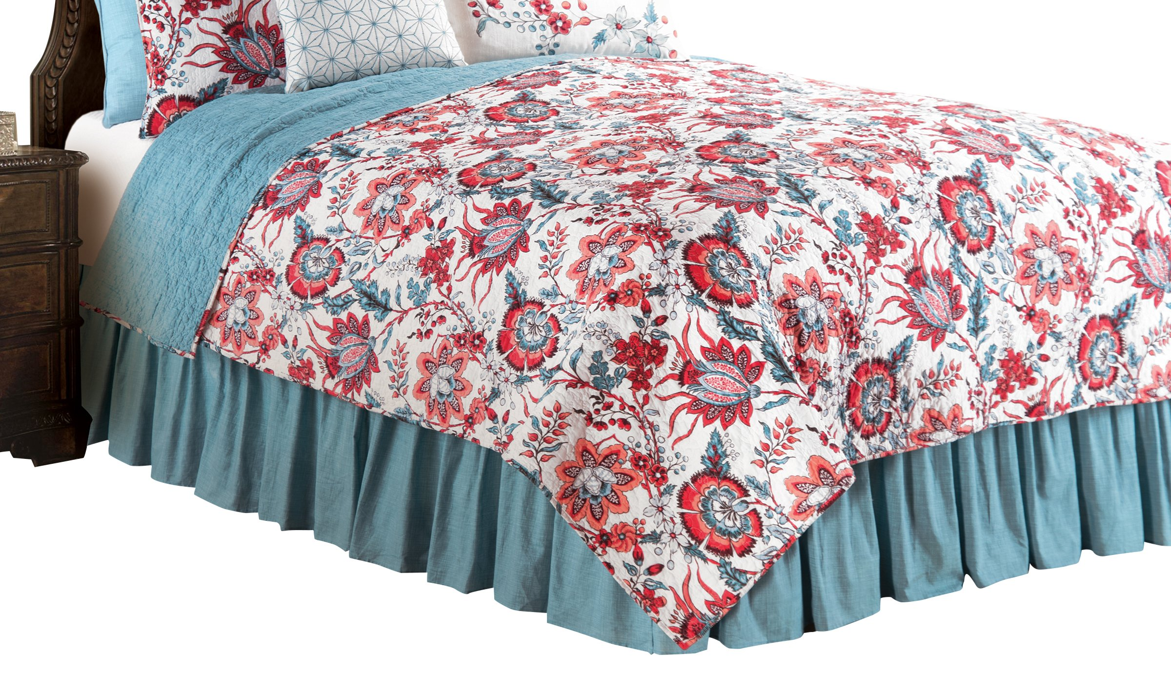C&F Home Adrienne Quilt, King, Blue by C&F Home
