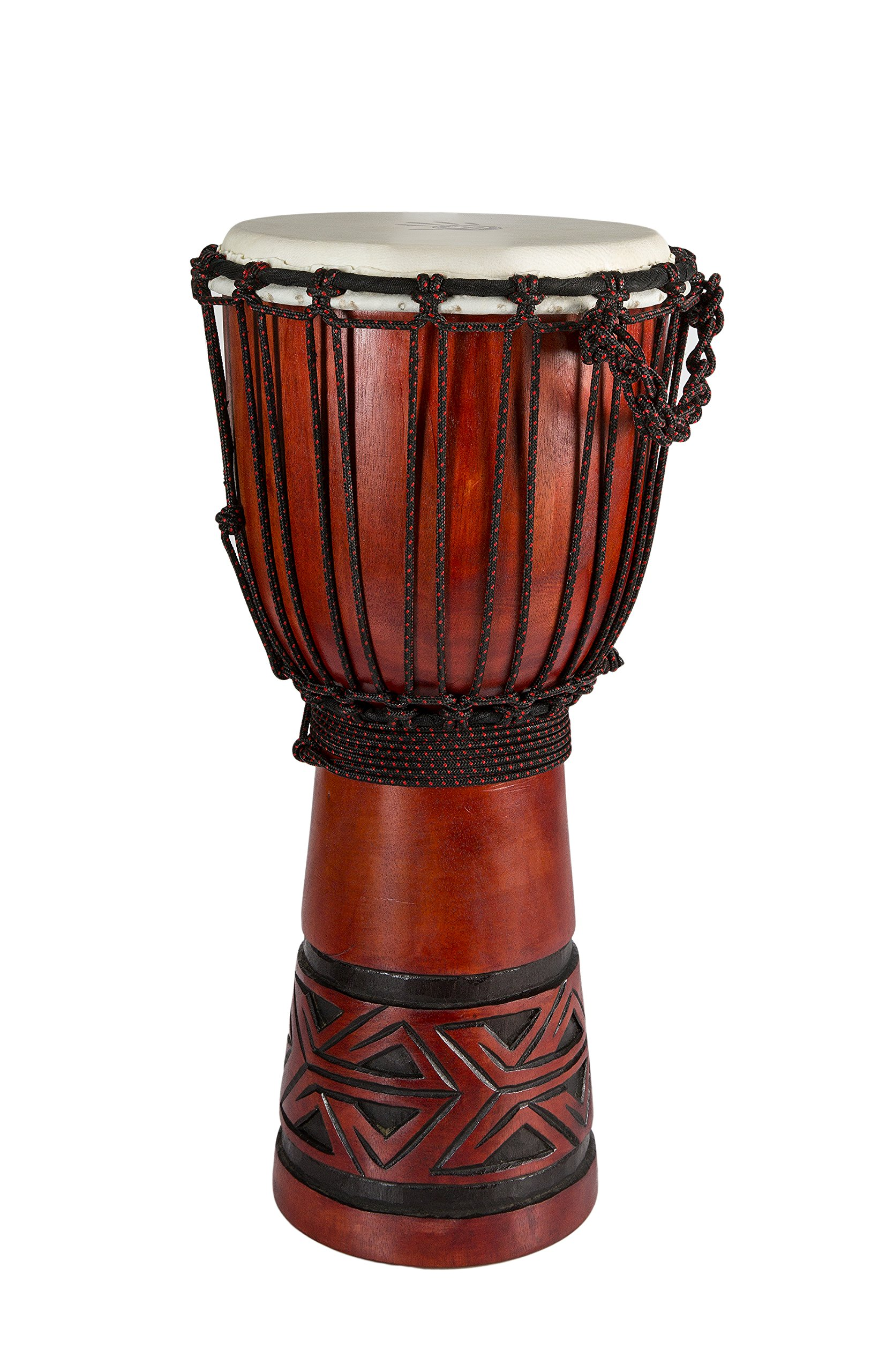 X8 Celtic Labyrinth Djembe Head 19 - Inch - 20 - Inch tall x 10 - Inch - 11 - Inch