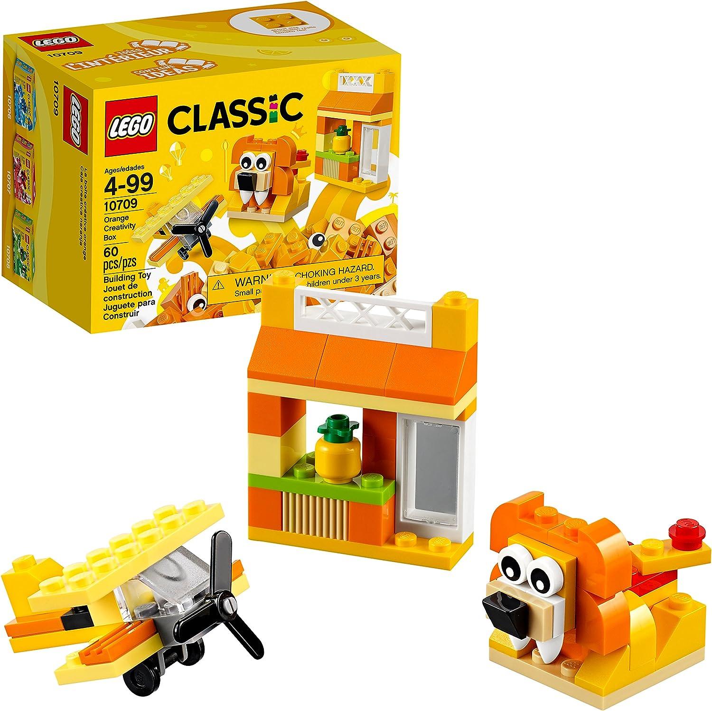 Lego Classic Kreativ-Box Orange 10709 (60 Teile): Amazon.es: Juguetes y juegos