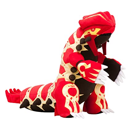 Pokemon Center Plush Doll Primal Groudon