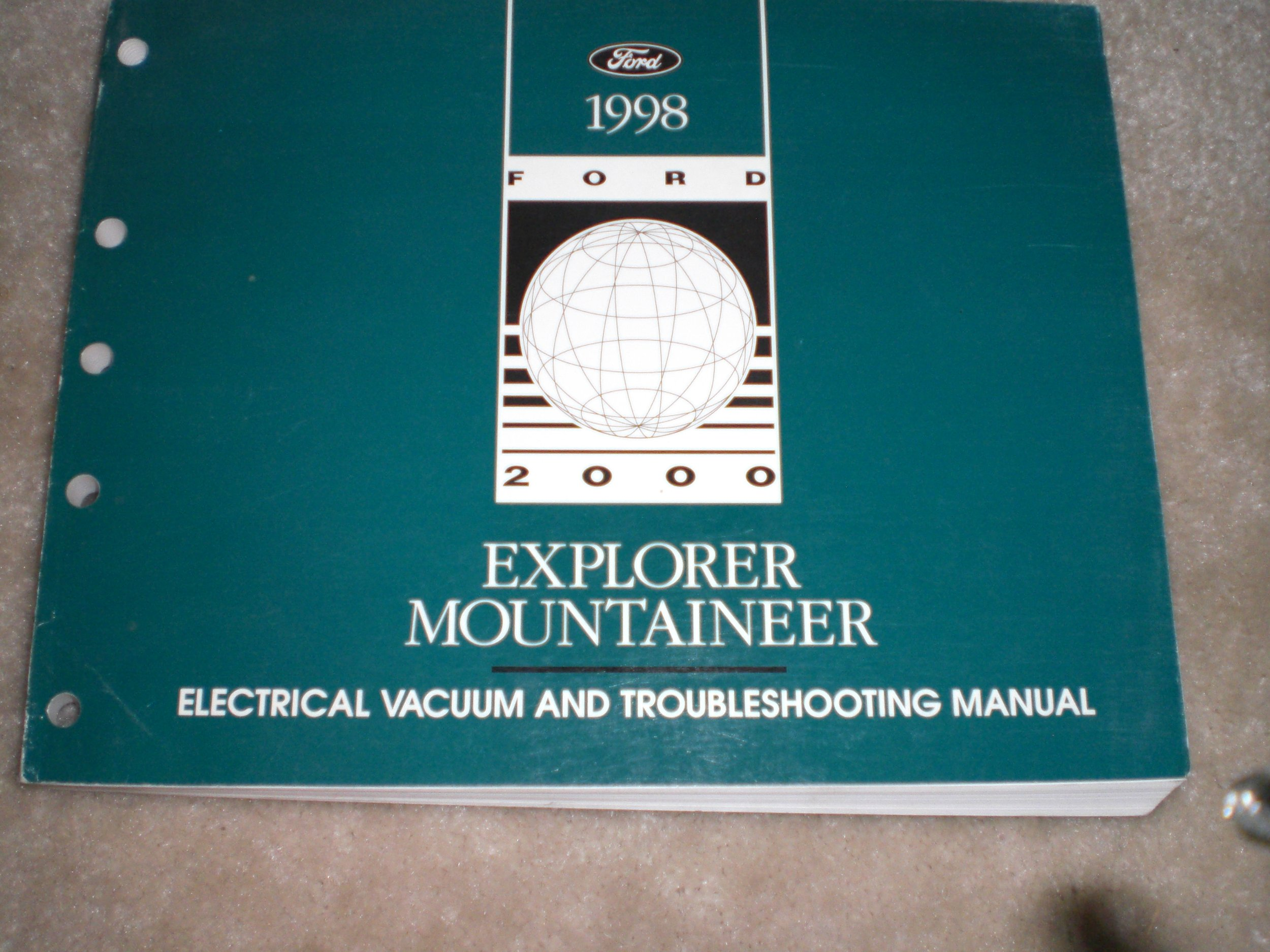 1998 Ford Electrical Vacuum & Troubleshooting Manual Explorer & Mountaineer:  ford motor co.: Amazon.com: Books