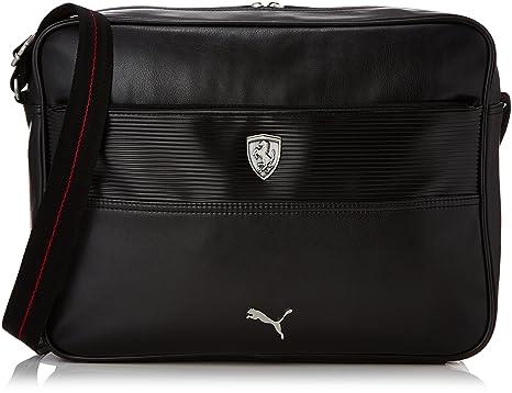 Amazon.com   Puma Mens Ferrari Ls Reporter Satchel-Style Bag Black ...