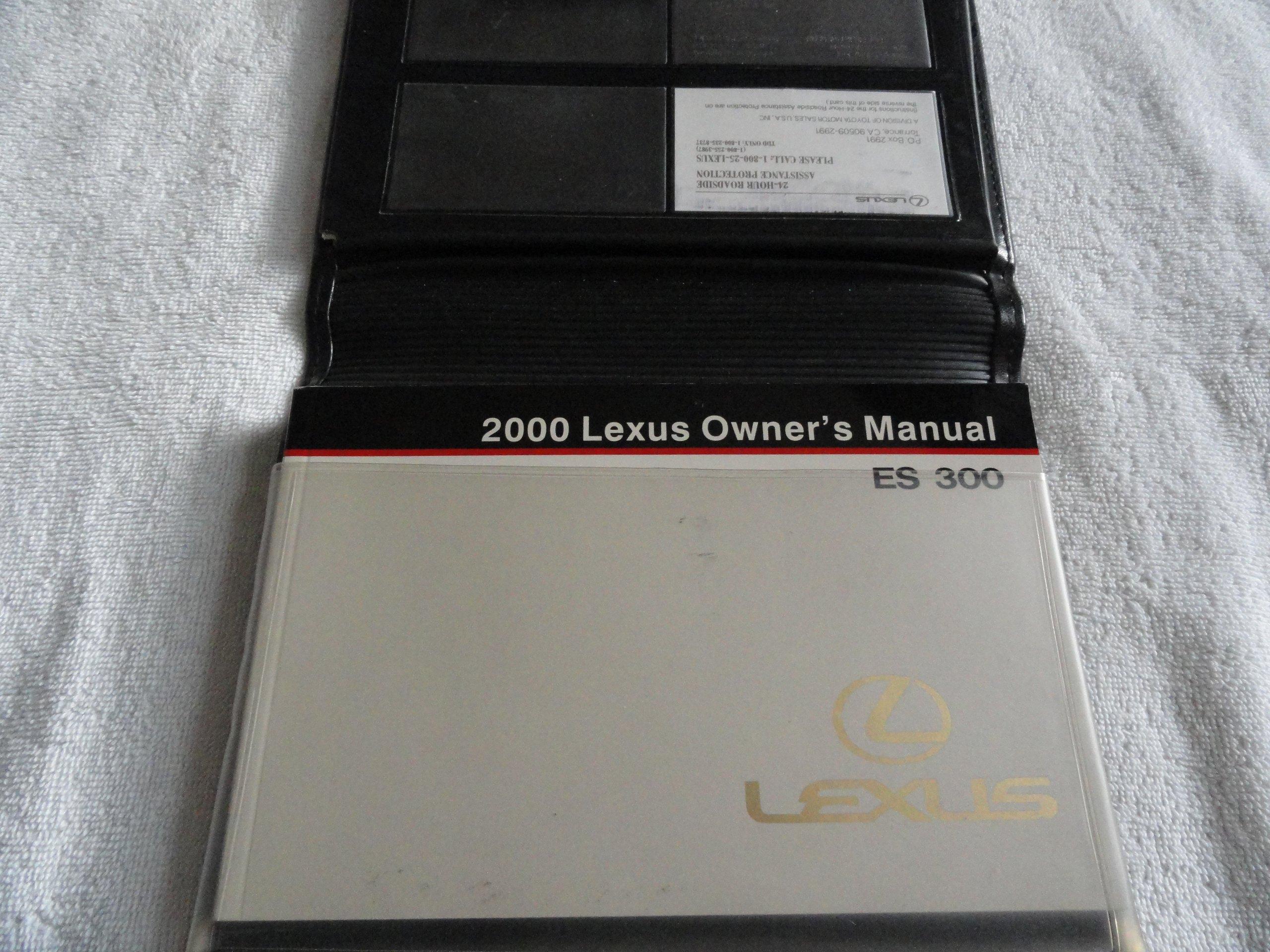 2000 lexus es300 es 300 owners manual lexus amazon com books rh amazon com 2000 lexus gs300 repair manual pdf 2000 lexus es300 repair manual pdf