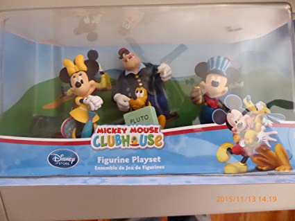 b69c3689d06 Image Unavailable. Image not available for. Color  Mickey Mouse Clubhouse  Figurine Playset ...