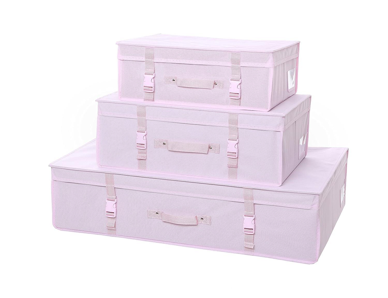 Hoesh International Simpson & Ruxton Ivory Full Set Pack 3 Wedding Gown Brides Dress Storage Travel Boxes With Free Tissue Paper Hoesh International Ltd