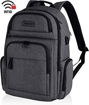KROSER Travel Laptop Stylish 15.6 Inch Backpack with RFID Pockets