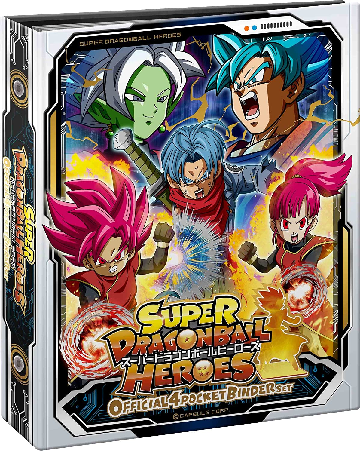 Super Dragon Ball Heroes Official 4 Pocket Binder Set ...