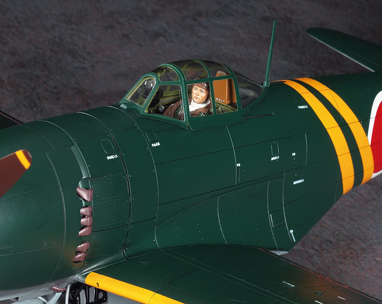 George Hasegawa 08883 Kawanishi N1K2-J Shidenkai 1//32 Scale Japanese Navy Interceptor Aircraft Model Kit