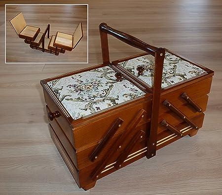 Lo desea XXL de estilo costurero juego de caja de regalo de tamaño grande de madera