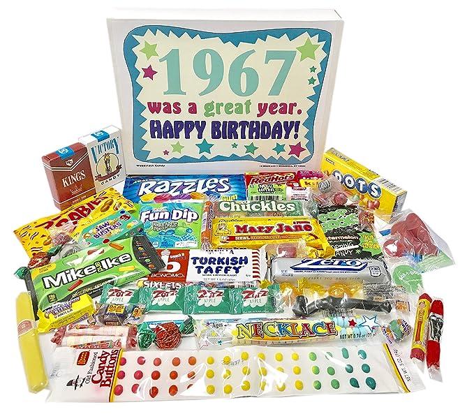 Caja de dulces de la infancia, regalo de cumpleaños ...