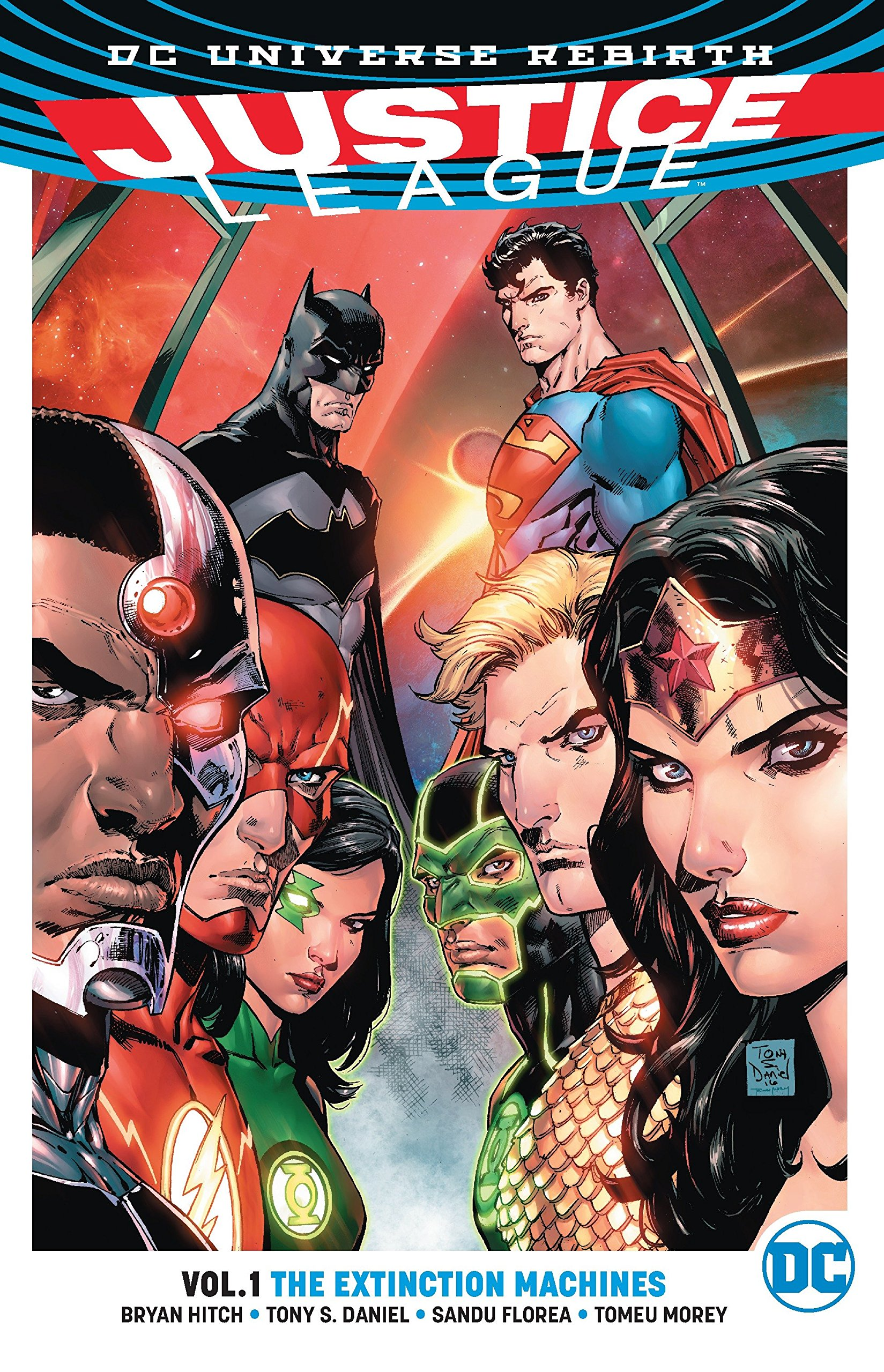 Justice League Vol. 1: The Extinction Machines (Rebirth) (Justice League: Dc Universe Rebirth, Band 1)
