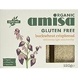 Amisa Organic Buckwheat Crispbread 120g (Pack of 6)