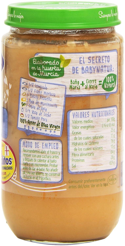Hero Baby Natur Lenguado con Crema de Bechamel para 8 Meses - 235 g: Amazon.es: Amazon Pantry
