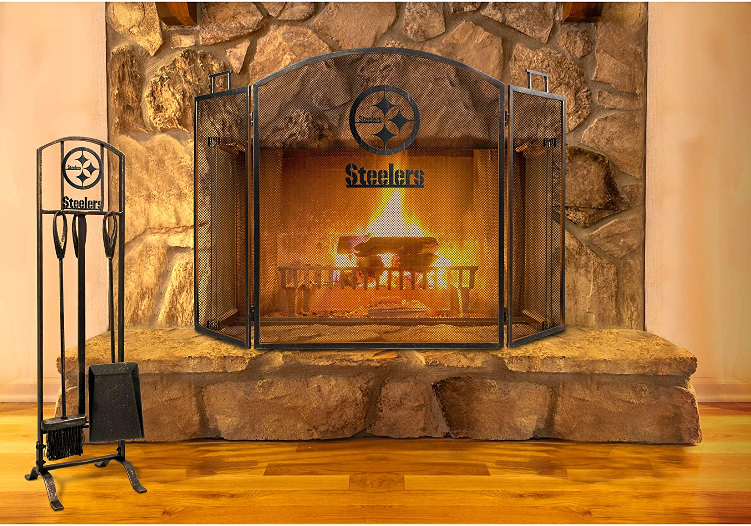 Imperial Officially Licensed NFL Merchandise Fireplace Tool Set
