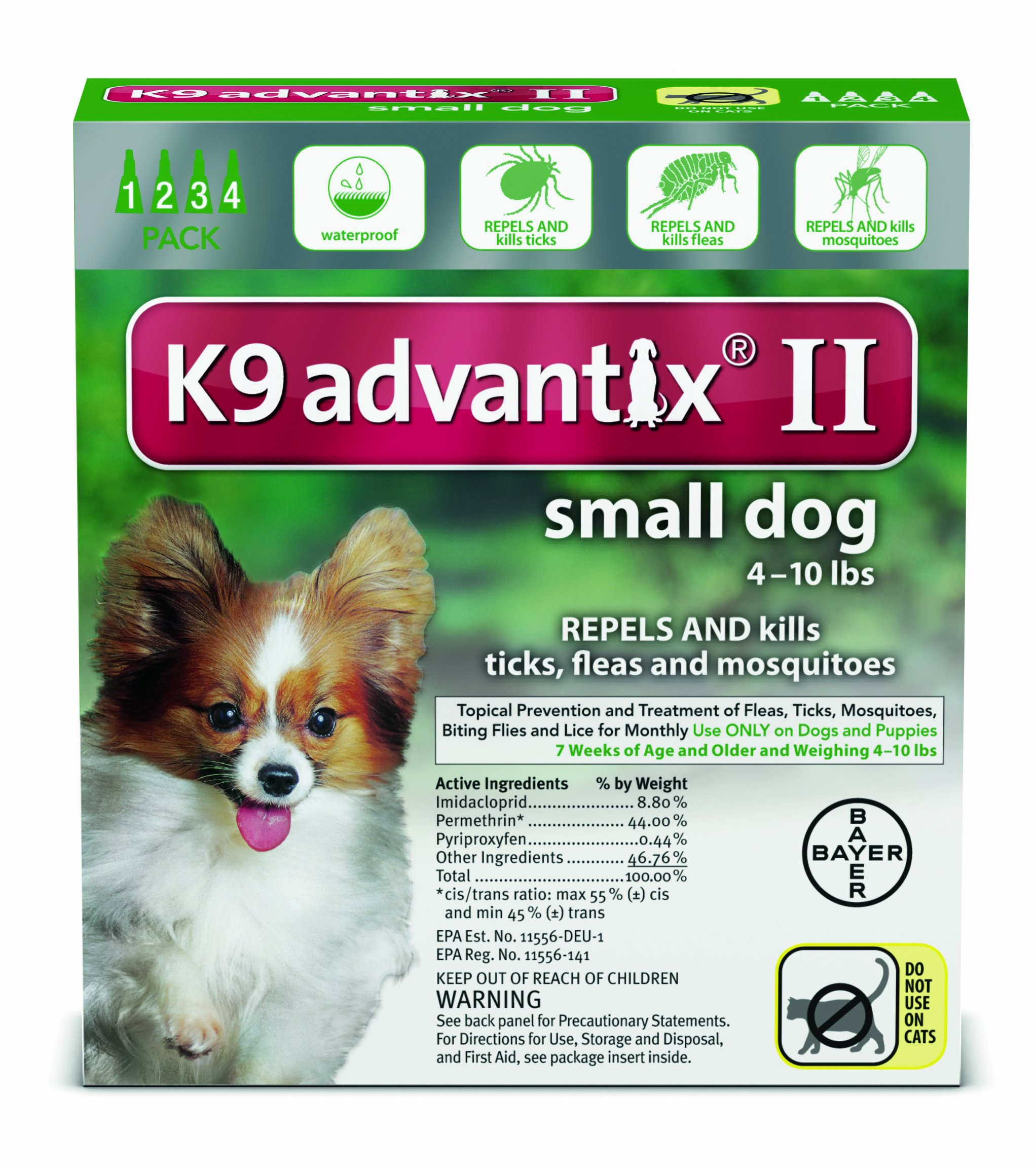 K9 Advantix Under 10 lbs