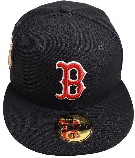 65570f17ad97f Amazon.com   New Era 59Fifty Boston Red Sox World Series Golden Hit ...