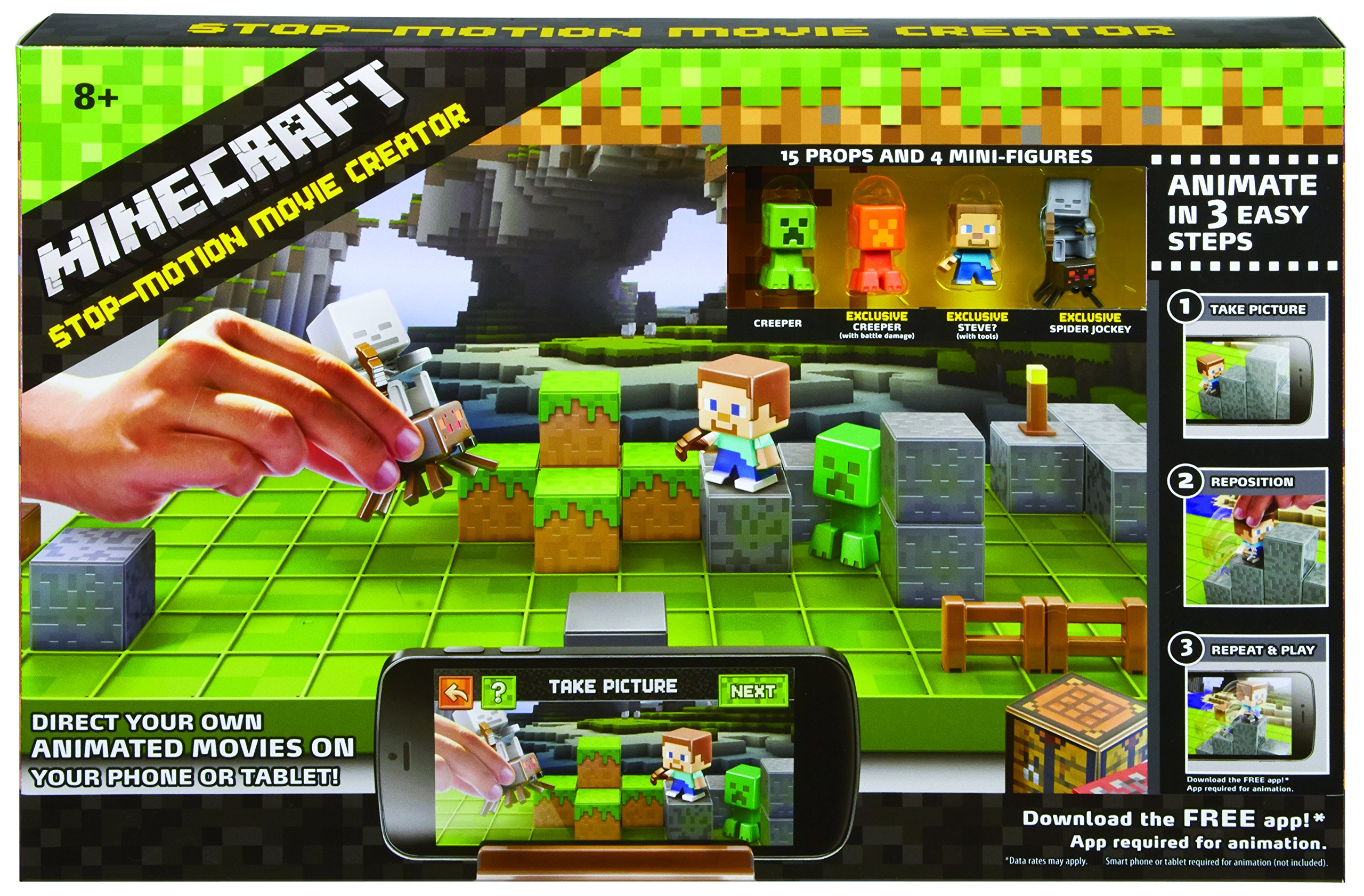 Mattel Minecraft Stop-Motion Animation Studio