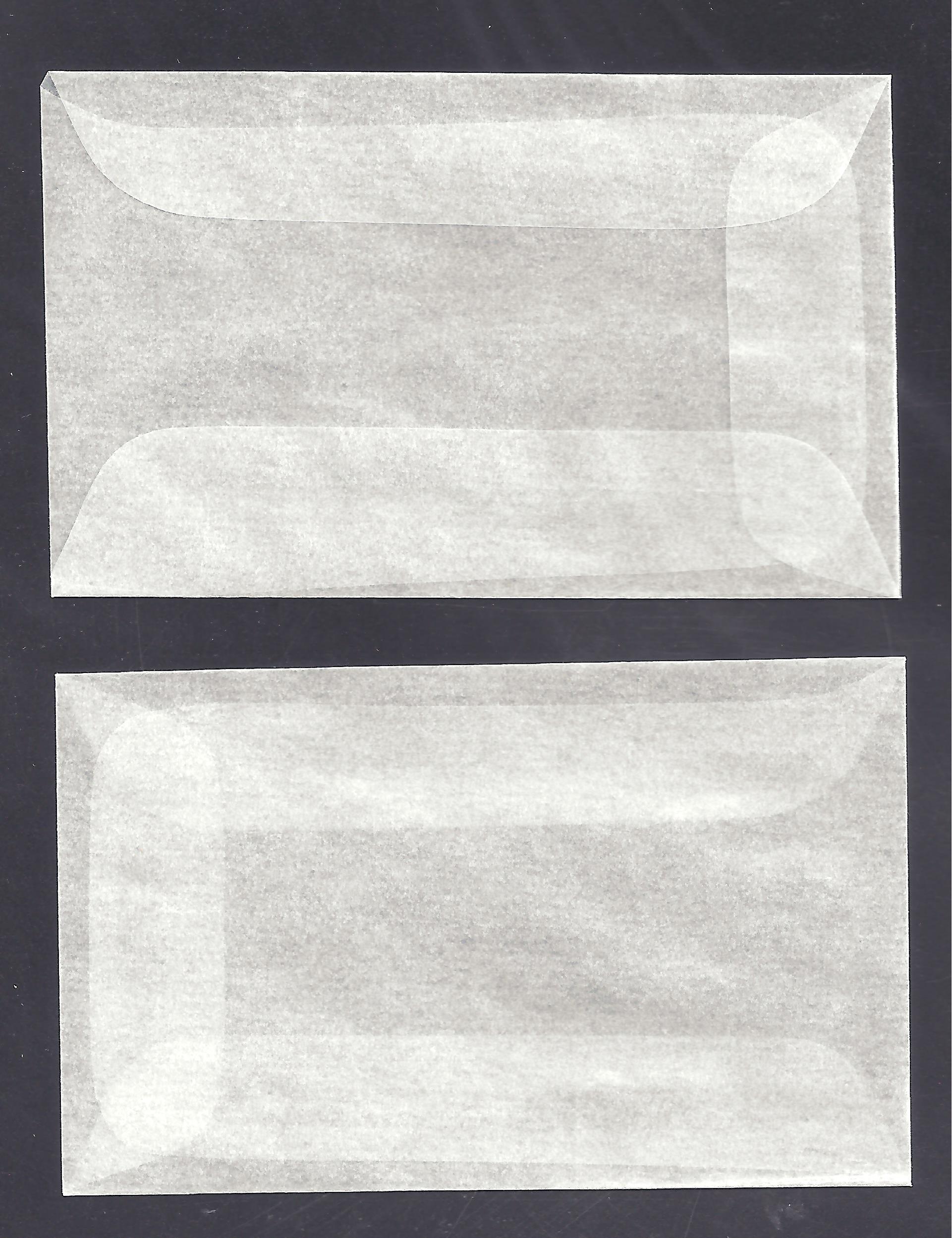1,000 #1 GLASSINE ENVELOPES -- 1 3/4 x 2 7/8 INCHES
