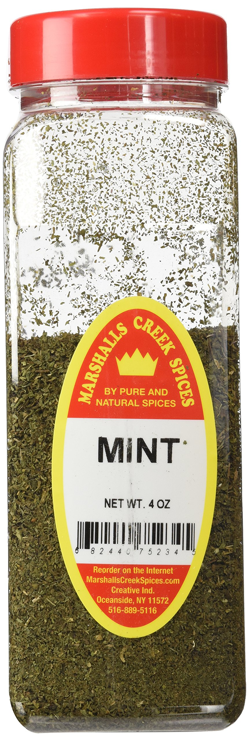 Marshalls Creek Spices X-Large Size Mint, 4 Ounces