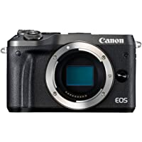 Canon EOS M6 Fotocamera Digitale Mirrorless, Nero