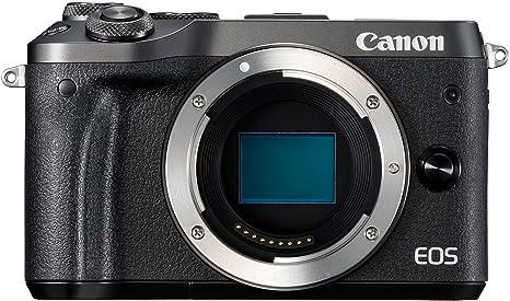 Canon EOS M6 - Cámara EVIL de 24.2 MP (pantalla táctil de 3.0 ...