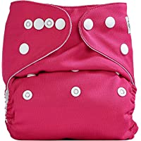 Bumberry Pocket Diaper (Raddish Pink) and 1 Microfiber Insert