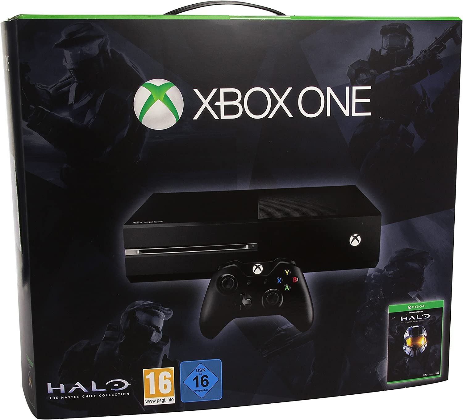 Microsoft Xbox One Halo: The Master Chief Collection Bundle 500GB ...
