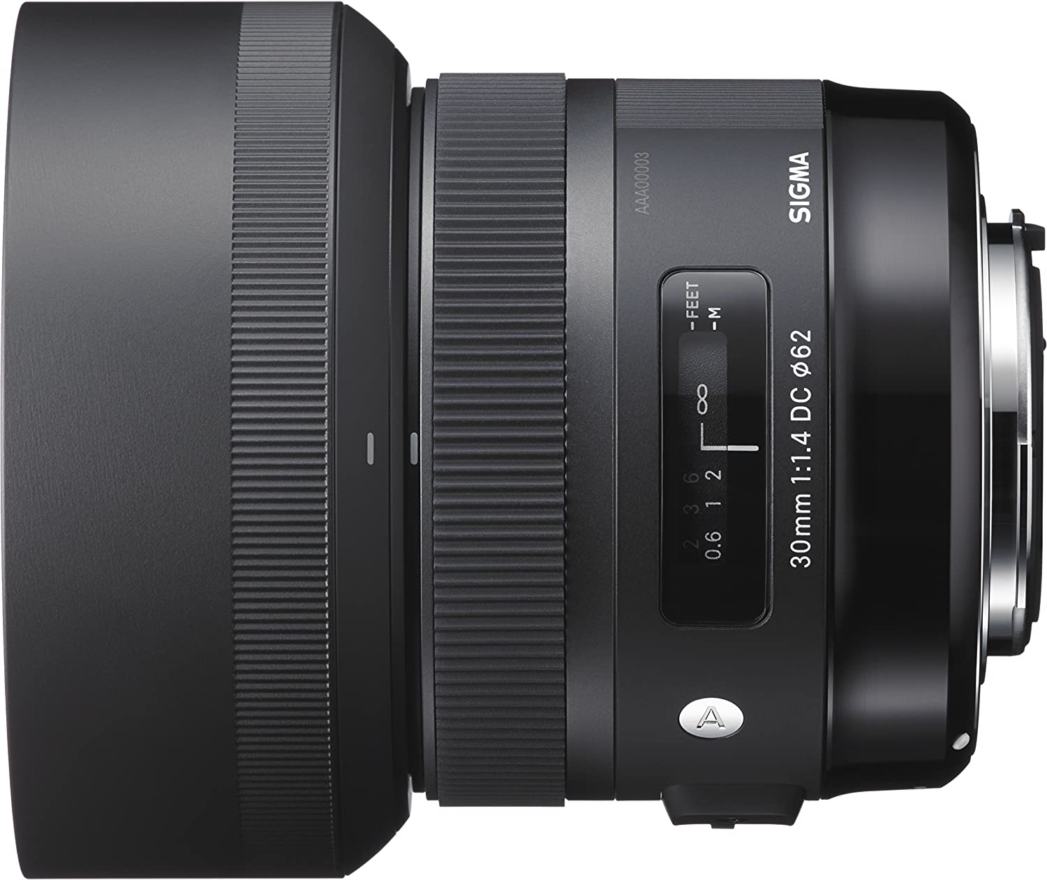 Sigma 30 mm/F 1,4 DC/HSM - Objetivo para Canon (Distancia Focal ...