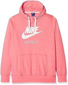 newest ab934 ca0ef Nike Women's AA7272 Sweatshirt, Rosa (Pink Nebula/Sail), XXX ...