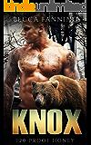 Knox (BBW Bear Shifter Moonshiner Romance) (120 Proof Honey)