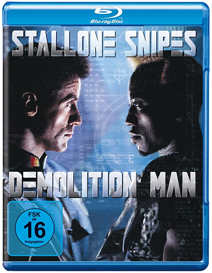 Demolition Man [Alemania] [Blu-ray]