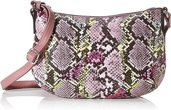 Gabor Serena Women's Cross-Body Bag, Pink (Snake Rose), 28x18x8 Centimeters (W x H x L),Gabor,8450