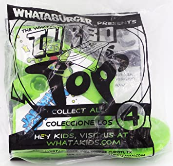 Whataburger Action Pack, Whatapals Turbo Tops Green Version