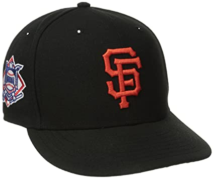 new product e6b59 1d64f MLB San Francisco Giants Baycik Snap 9Fifty Snapback Cap, Small Medium,  Black