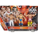 WWE Basic Figure 3 Pack Action Figure - Ricky Steamboat Roddy Piper Macho Man Randy Savage