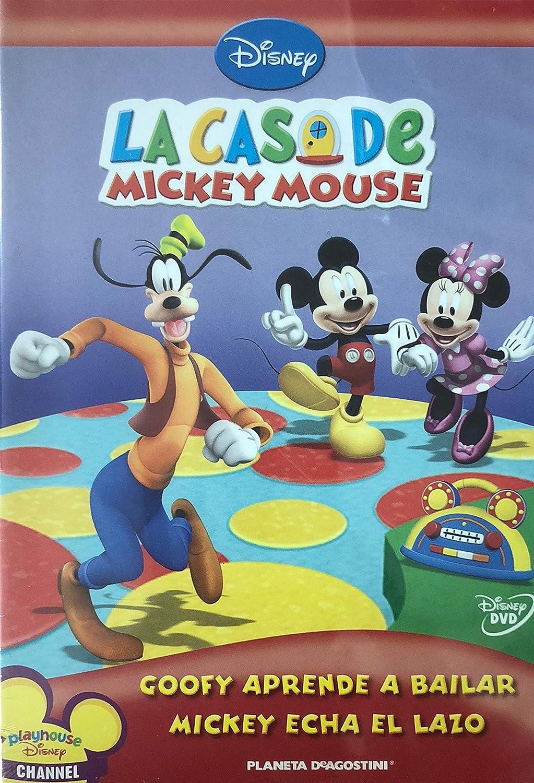 LA CASA DE MICKEY MOUSE- GOOFY APRENDE A BAILAR // MICKEY ECHA EL ...