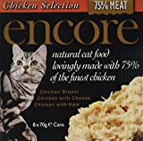 Encore Cat Food Tin Chicken Multipack, 560g, Pack of 4