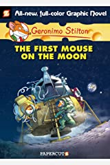 Geronimo Stilton Graphic Novels #14: The First Mouse on the Moon Kindle Edition