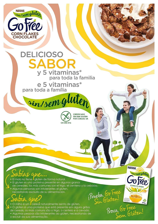 Corn Flakes Cereales Desayuno con Chocolate, sin Gluten - 375 gr: Amazon.es: Alimentación y bebidas