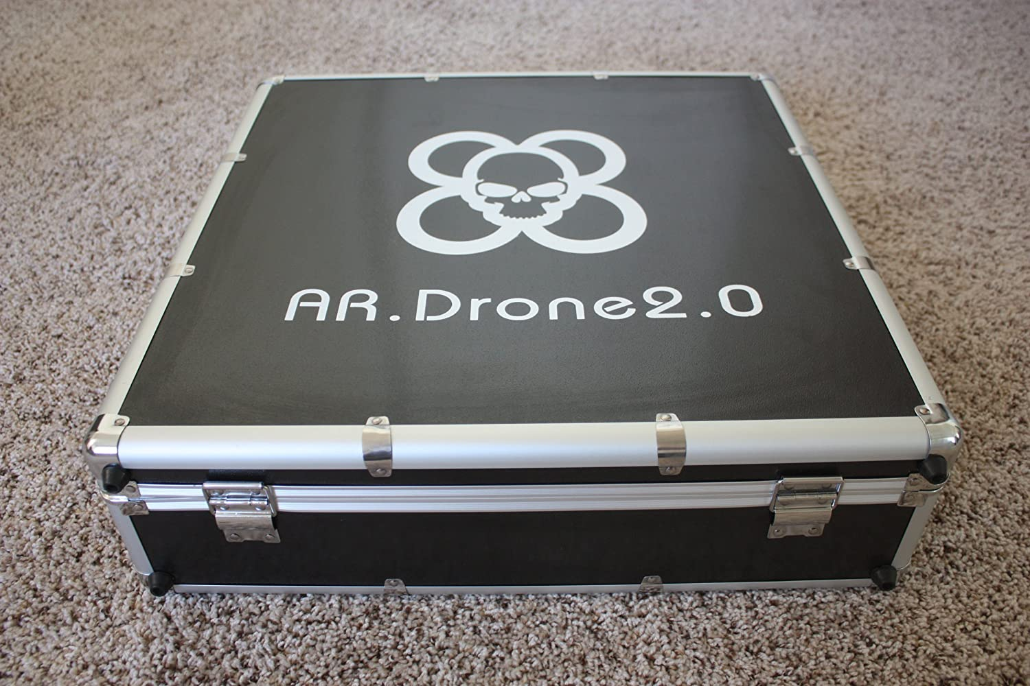 Parrot ARDrone 20 Transport Carrying Case Fit Indoor Hull Amazoncouk Toys Games