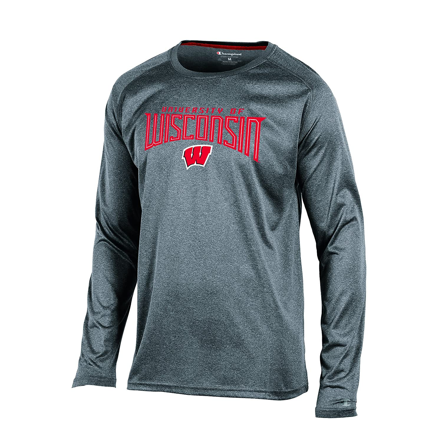 Champion Herren s NCAA Time Long Sleeve Synthetik T-Shirt