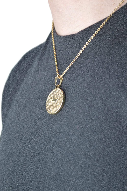 VREELANT Medalla Horoscopo Acero inoxidaboe