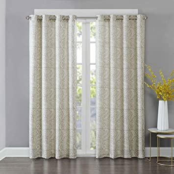 Ideal Amazon.com: Echo Marrakesh Window Curtain Pair Grey 96