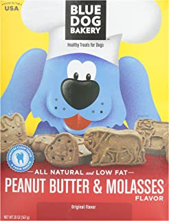 product image for Blue Dog Bakery Natural Low Fat Peanut Butter & Molasses Biscuits, 20 oz
