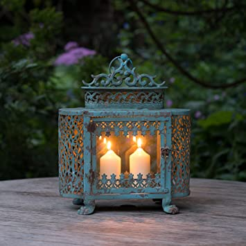 Antique Style French Candle Lantern for Home Garden Amazonco
