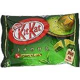 Japanese Kit Kat Matcha Green Tea Flavor | Sweetness for Adults, mini 12 pcs (Japan Import)