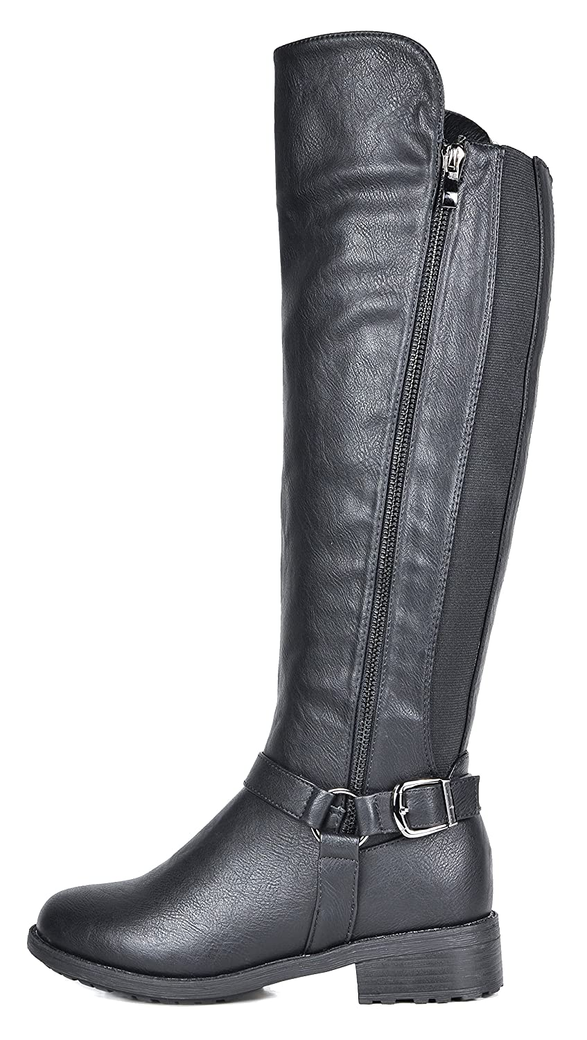 Women's Sunrider Knee High Winter Military Combat Boots